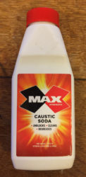 caustic soda bottle