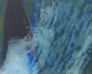 Gwen O'Dowd, waterbed 3, carborundum print
