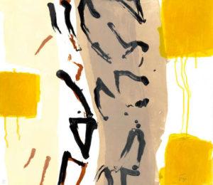 Tony O'Malley, Isla De Graciosa, carborundum print