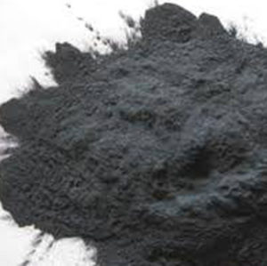 a pile of carborundum powder