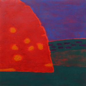 Ursula Leach, Night Tree, carborundum print