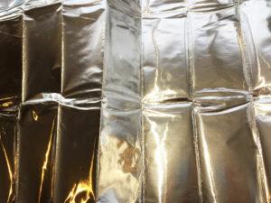 Self adhesive aluminium foil sheet