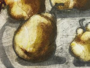 Conference pears print detail