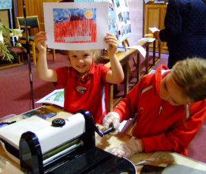 Proud and curious printmakers