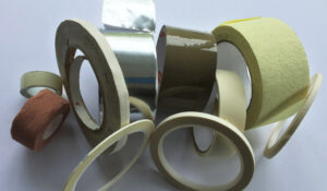 A collection of sticky tape