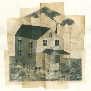 Artist's prints with chine collee Charlotte N Drury