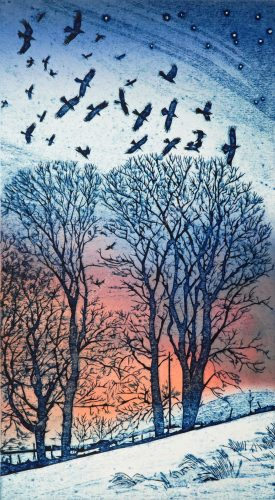 Artists' prints with chine collee Susie Mackenzie
