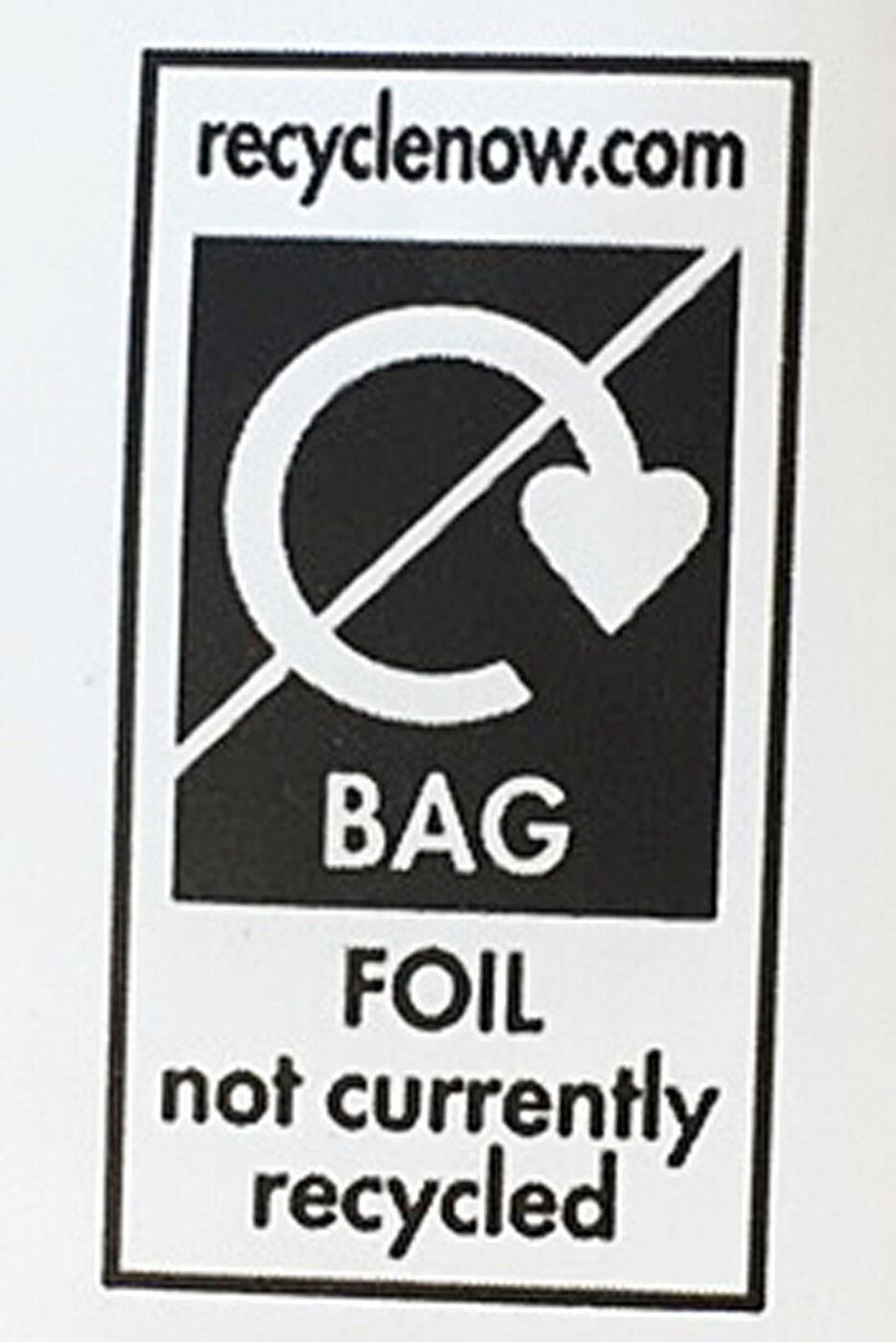 non recyclable logo